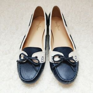 Cole Haan leather Tali boat shoes, flats